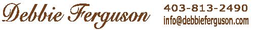 Debbie Ferguson Sticky Logo